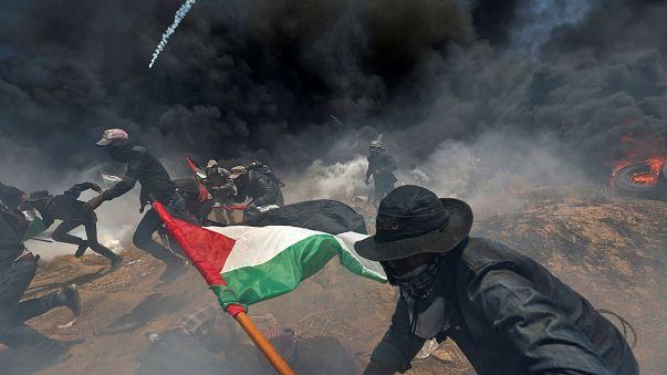 Palestinianos revoltam-se e pedem intervenção internacional
