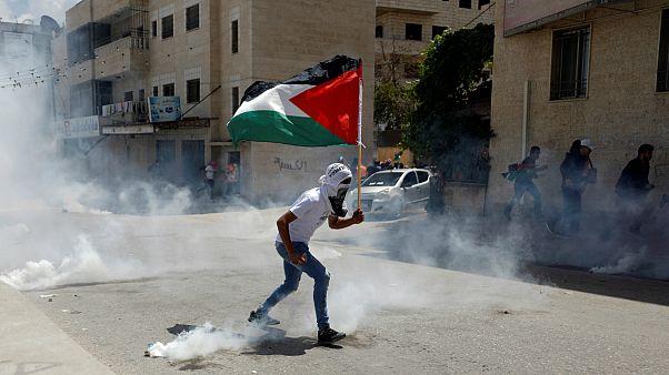 تظاهرات «روز نکبت» یک روز پس از کشتار فلسطینیان در غزه