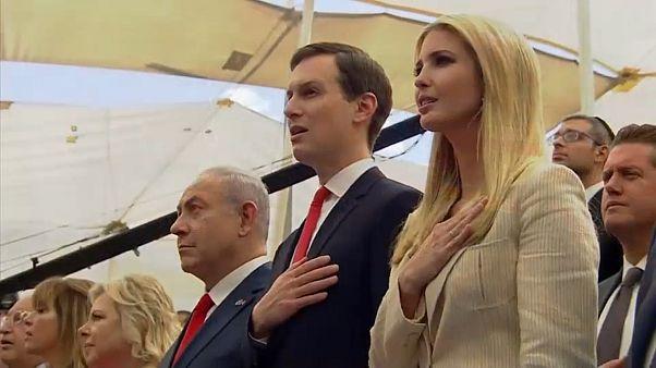 إيفانكا وكوشنير في مراسم نقل السفارة إلى القدس