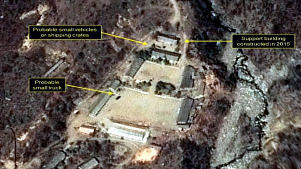 Nordkorea beginnt mit Abbau seines Atomtestgeländes