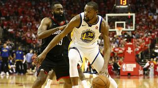 Play-offs : les Warriors prennent l'avantage à Houston