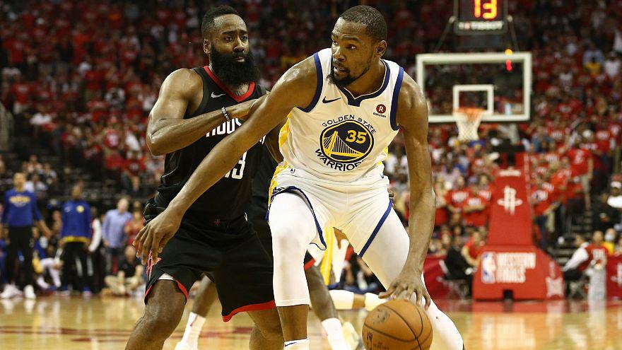 Play-offs : les Warriors prennent l'avantage à Houston
