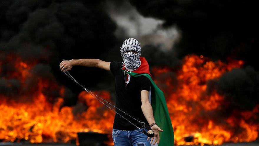 День катастрофы: акции протеста на Западном берегу