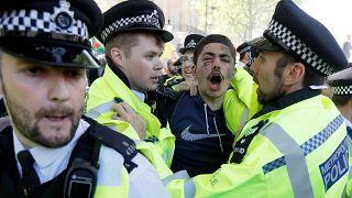 Londres : des heurts en marge de la visite de Recep Tayyip Erdogan