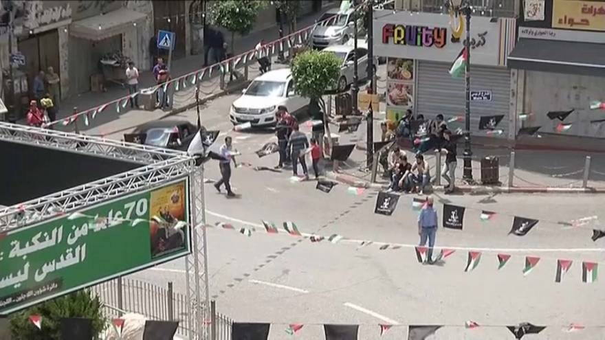 Conmemoración del 70 aniversario de la 'Nakba' en Palestina