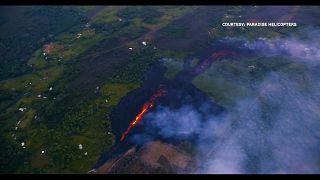 Weitere Risse in Erdoberfläche nach Vulkanausbruch auf Hawaii