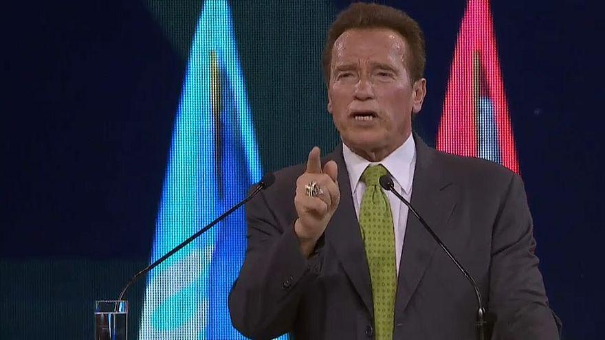 Klimagipfel: Schwarzenegger appelliert an Trump, sich anzuschließen