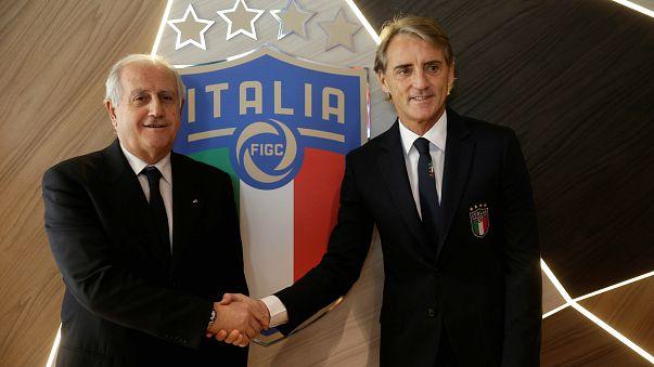 İtalya Milli Takımı'nın yeni teknik direktörü Mancini oldu