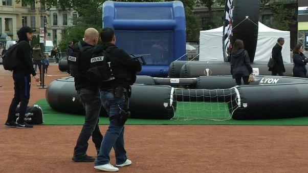 Finale di Europa League ad alto rischio, a Lione dispositivo di sicurezza eccezionale