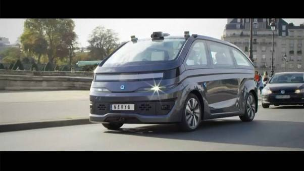 The first autonomous taxi robot from French start-up hits the market