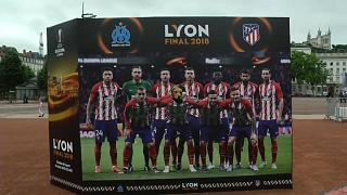 Segurança apertada para a final da Liga Europa em Lyon