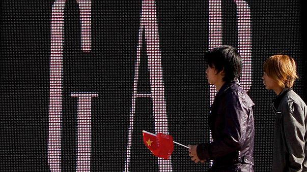"""شركة """"غاب"""" تتلف أحد قمصانها بسبب خريطة الصين"""