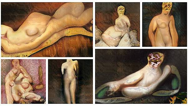 Teen trains artificial intelligence to paint nude portraits — with surreal results