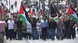 Tear gas fired to disperse Palestinian 'nakba' demonstration