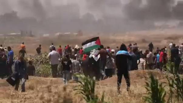 Confrontos em Gaza