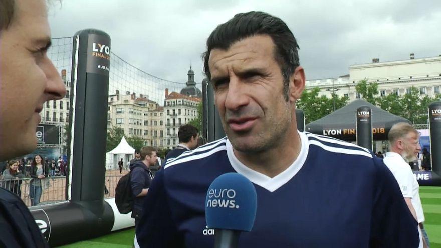 """Pour Luís Figo, l'Atlético """"légèrement favori"""""""