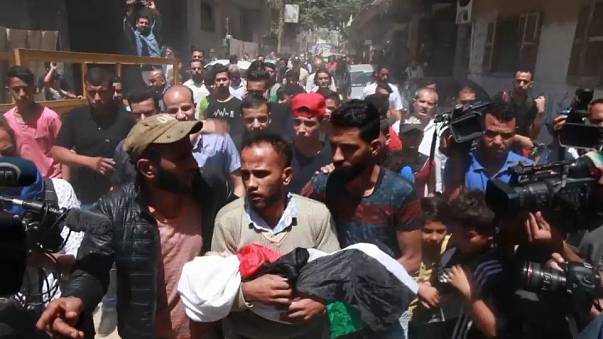 Rabia y dolor en la Franja de Gaza en el aniversario de la 'Nakba'