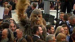 Rohamosztagosok vigyáztak Chewbaccára Cannes-ban