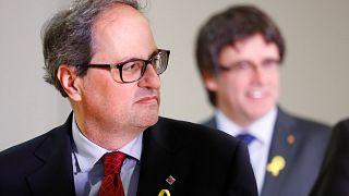 Rencontre en vue pour le Catalan Quim Torra et l'Espagnol Mariano Rajoy