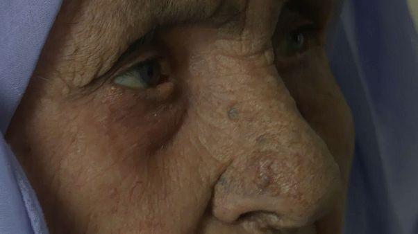 Laila a 111 anni è la rifugiata siriana più anziana della Grecia