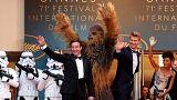 Cannes sous haute sécurité pour la venue de Chewbacca sur la Croisette