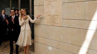 ايفانكا ترامب تفتتح السفارة الاميركية في القدس الشرقية