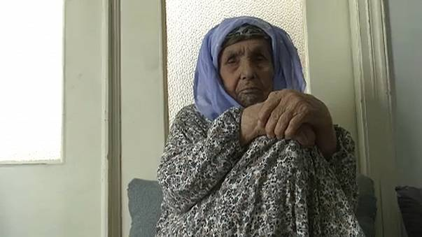Unokáit szeretné látni a 111 éves menekült