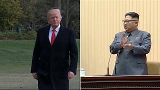 US-Präsident Donald Trump / Nordkoreas Machthaber Kim Jong-un