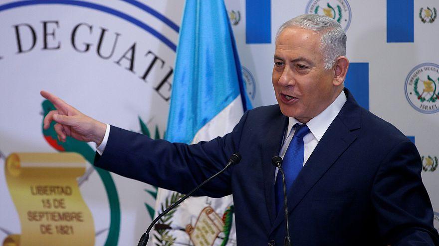 Benjamin Netanyahu bei der Einweihung der Botschaft von Guatemala