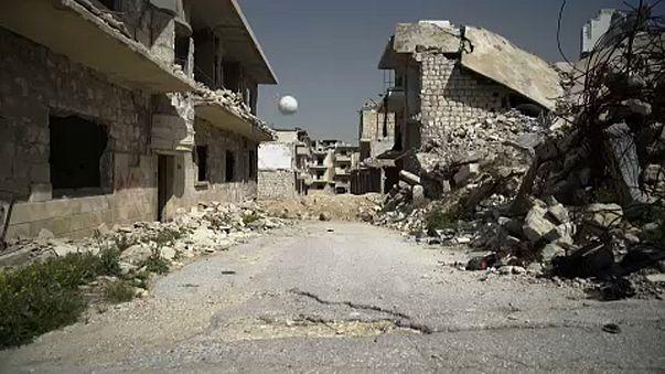 """""""Legyen a béke világbajnoksága"""" - szíriai civilek üzenete Putyinnak"""
