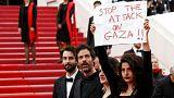 اعتراض در جشنوارۀ فیلم کن به خشونت سربازان اسرائیلی علیه فلسطینیان