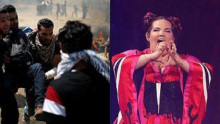هزاران نفر خواستار پس گرفتن میزبانی یوروویژن ۲۰۱۹ از اسرائیل شدند
