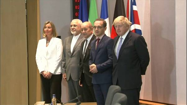 European leaders step up efforts to save Iran nuclear deal