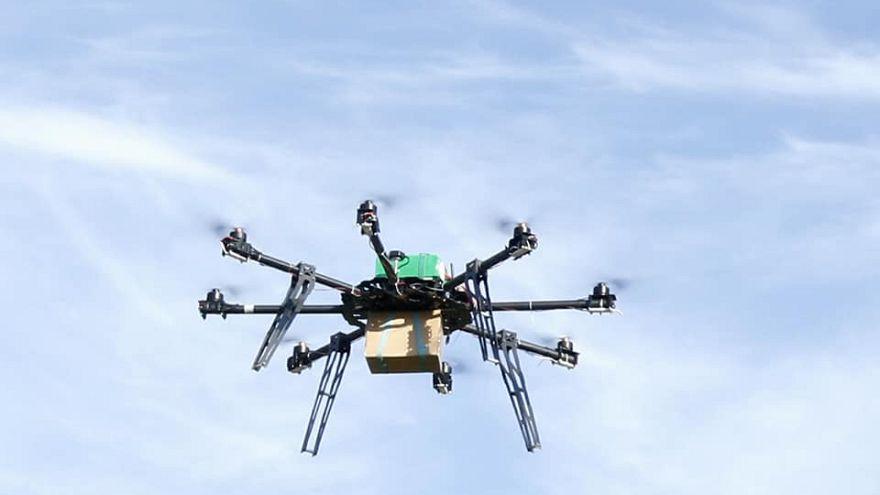 Ταχυδρομείο με drone