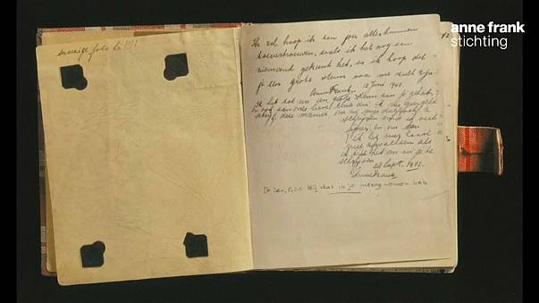 Anne Frank'ın günlüğünün yayınlanmamış iki sayfası ortaya çıktı