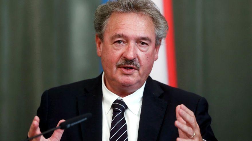 وزير خارجية لوكسمبو��غ جان أسيلبورن