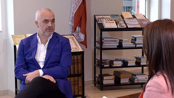 """For us it's a matter of life and death"": Albanian PM Rama on EU membership"