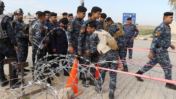 مسلحون يحاصرون مراكز تصويت في كركوك تعبيرا عن رفضهم لنتائج الانتخابات