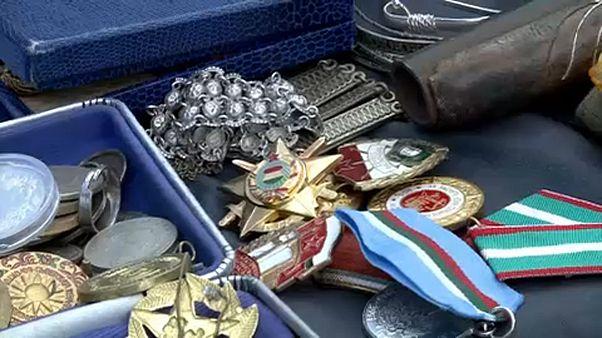 Sofya'da Nazi dönemine ait eşyalar satılıyor