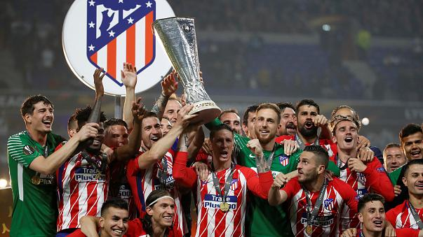 Atletico Madrid beat Marseille 3-0 in Europa League final