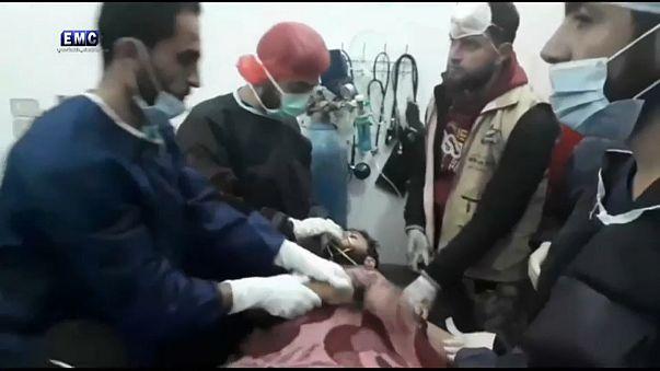 Chlorine used in Idlib attack says watchdog