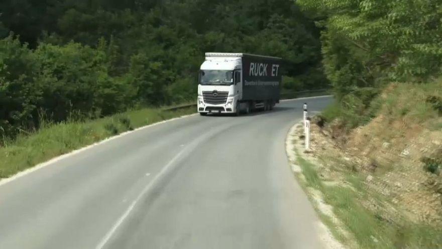 Las carreteras, una asignatura pendiente en los Balcanes