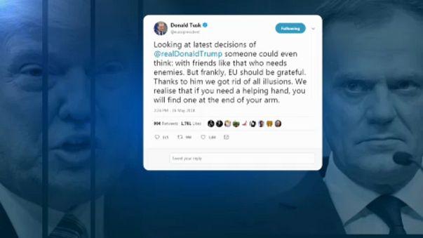 Tusk e Trump em rota de colisão