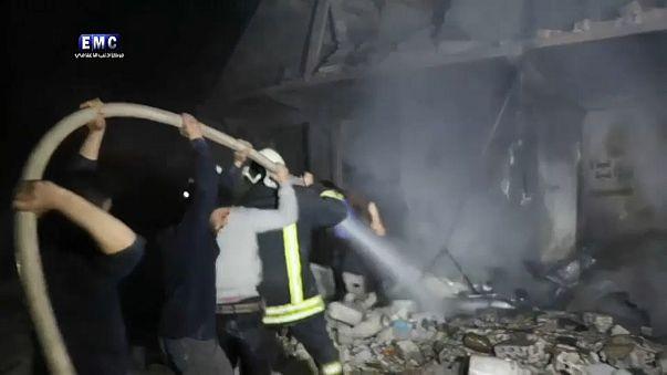 """""""Höchstwahrscheinlich"""" Giftgasangriff in Sarakib"""
