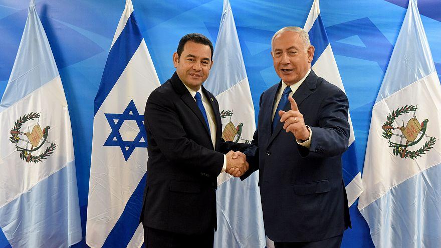 Le Guatemala ouvre aussi une ambassade à Jérusalem