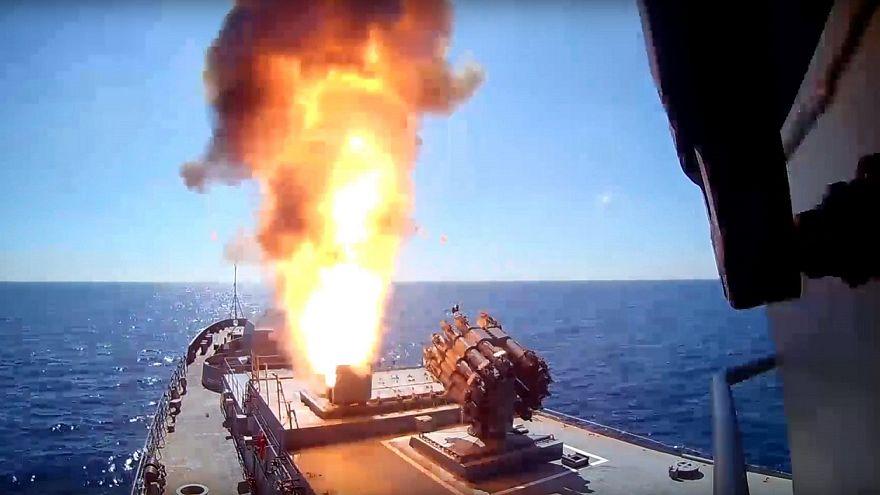 Ρωσικά πολεμικά με πυραύλους Καλίμπρ στη Μεσόγειο