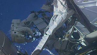 Ремонтные работы в открытом космосе