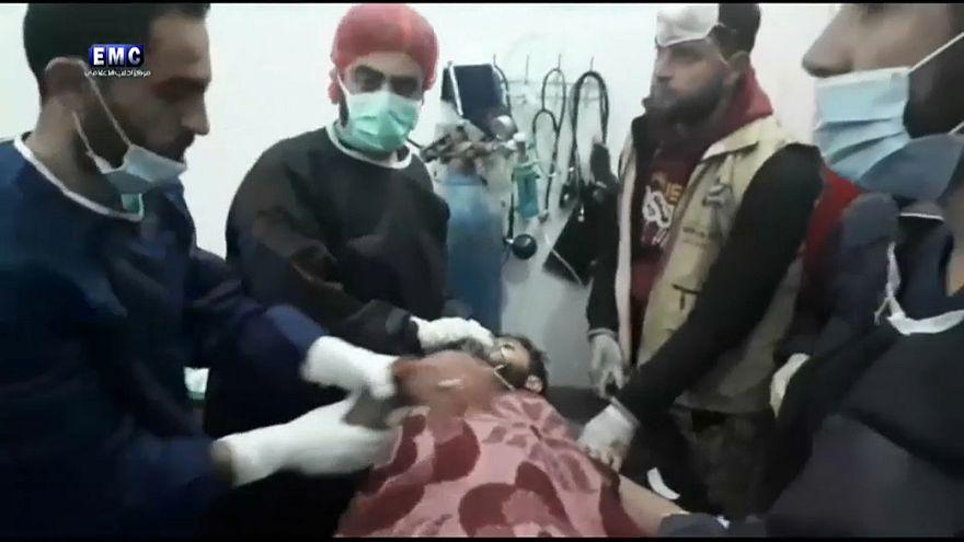 Ataques químicos confirmados na Síria
