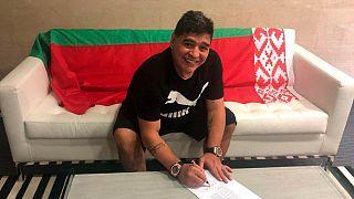 Марадона возглавит белорусский клуб