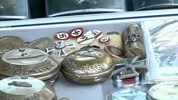 Nazi memorabilia for sale in EU summit city